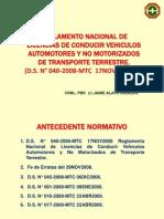 Cac Unidad 5 Licencia de Conducir Ds 040-2008 Tnte