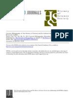 Bibliografia ISIS em Historia e cultura da ciência - 2011