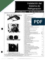 Montaje equipo refrigeracion