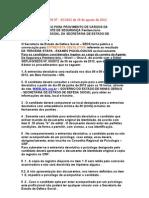 EDITAL SEPLAG- ENTREVISTA DEVOLUTIVA DOS EXAMES PSICOLÓGICOS