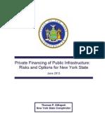Public-private partnership report