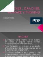 Hacker , Cracker, Adware y Phishing 1