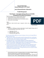 02 Tutorial 01 - Investment Advisory and Portfolio Management Process