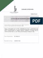 AUTOVELOX PESCARA. Determina n. 78 Del 16 Aprile 2013