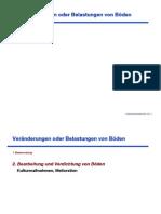 Bodenkunde Vorlesungsskript SoSe 2009