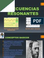 FRECUENCIAS RESONANTES