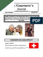 The Guarnero´s Journal 5. Junio 13
