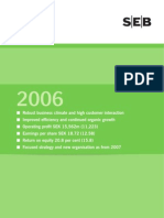 SEB Annual Report 2006