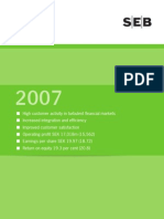 SEB Annual Report 2007