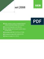 SEB Annual Report 2008