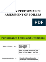 Energy Perf of Boilers