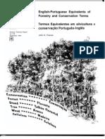 glossario portugues ingles portuges de silvicultura