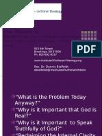 Robust Theology I