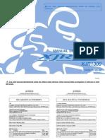 Manual de La YAMAHA XJR1300 2009