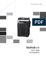 Bizhub 215 Ug Fax Operations en 1 1 0