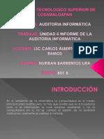 6 Unidad Informe de La Auditoria Informatica