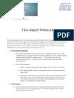 2013 TTA Rapid Protocol