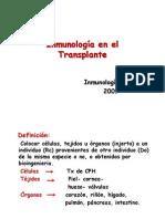 Clase 3.11.09 Trasplante