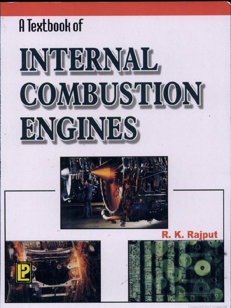 Internal Combustion Engine by R K Rajput reading material
