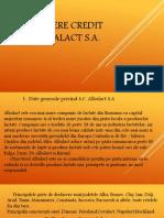 Propunere Credit Albalact S.a.