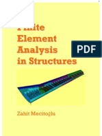Finite Element Analysis in structures.