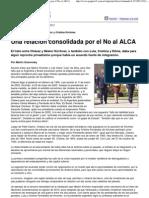 (Página_12 __ El mundo __ Una relación consolidada por el No al ALCA)