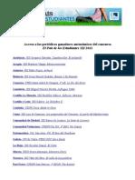 Acceso a los periódicos ganadores autonómicos del concurso El País de los Estudiantes XII 2013