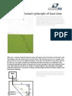 Ants Fermat Principle