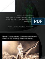 The Fantasy of the Ultimate Display and the Promises of Monsters