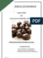 Chocolate Analysis