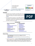 DHS Daily Report 2009-04-24