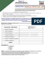 Political Science Ias Main Mock Test Programme 2009e280a6