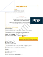 Arithmetique Cours Et Applications