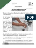 18/01/12 Germán Tenorio Vasconcelos necesario Reforzar Medidas Preventivas Para Evitar Influenza Ah1n1, Sso