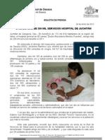 24/01/12 Germán Tenorio Vasconcelos -OTORGÓ MÁS DE 200 MIL SERVICIOS HOSPITAL DE JUCHITÁN