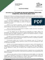 25/01/12 Germán Tenorio Vasconcelos REFUERZA SSO ACCIONES DE VIGILANCIA EPIDEMIOLÓGICA Y ATENCIÓN MÉDICA CONTRA_0