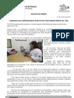 27/01/12 Germán Tenorio Vasconcelos COMUNICACIÓN, INDISPENSABLE PARA EVITAR TRASTORNOS MENTALES, SSO