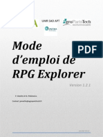 Notice de RPG Explorer