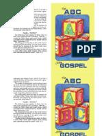The ABC of the Gospel - Gospel tract