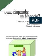 Como Emprender Una Empresa Carlos Noriega