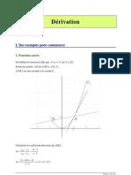 Maths Et Derivation1