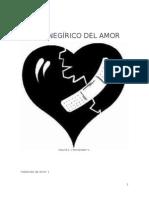 El panegírico del Amor - David A. Hernández V.