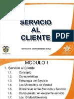 Servicio Al Cliente Mod 1 - El Servicio