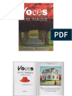 Voces en El Parque- Anthony Browne