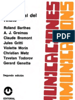 Barthes Roland Anlisis Estructural Del Relato Comnications