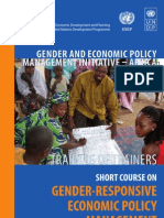 Gender and Economic Policy Management Initiative - Africa