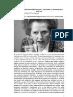 El Origen de Las Ideas Neoliberales de Margaret Thatcher, La Enfermedad Mental