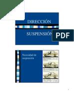 Mecanica Automotriz- Direccion y Suspension