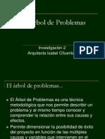 El Arbol Del Problema
