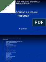 Menadžment ljudskih resursa - prezentacija